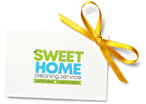 Sweet Home Cleaning Service Gift Card